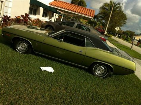 1970 plymouth barracuda gran coupe buy used 1970 plymouth barracuda gran coupe 5 2l in miami