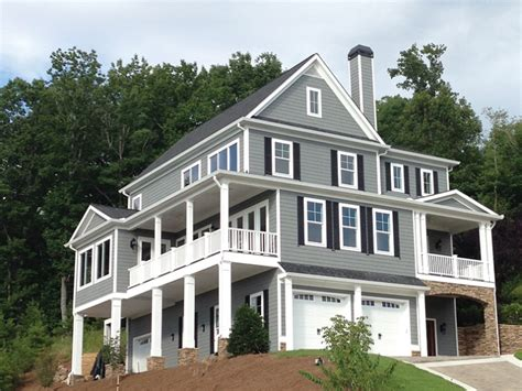 three story homes eplans colonial style house plan breathtaking views