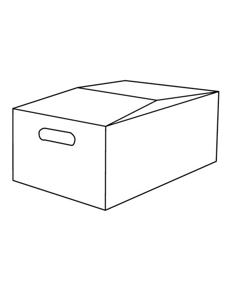 box coloring pages 4