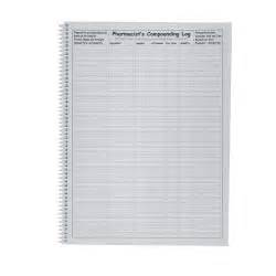 pharmacist s compounding tools log book record books