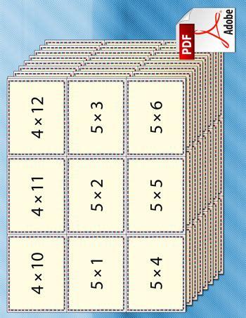 free printable flash cards multiplication worksheet factory