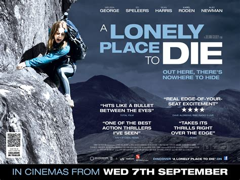 A Place Uk Release A Lonely Place To Die Uk Poster Heyuguys