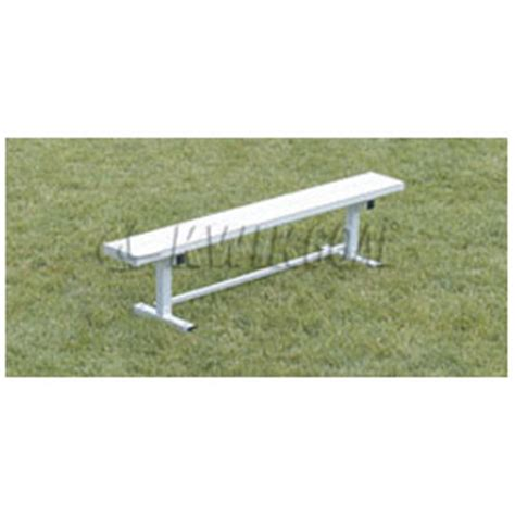 kwik goal bench kwik goal 6 bench without back soccerevolution com
