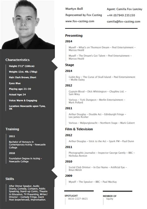 cv layout with photo exles of resumes two page resume format how to