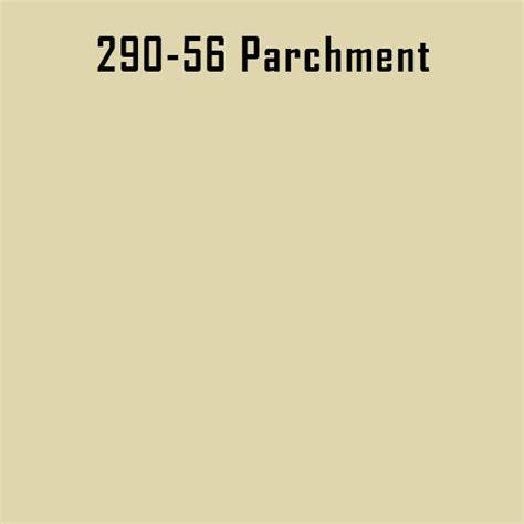 what color is parchment engine paint colors