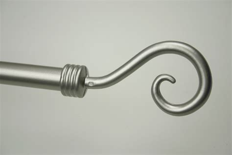 Embout Barre Rideau by Embout Tringle 224 Rideau Crosse 216 20 Nickel Satin 233