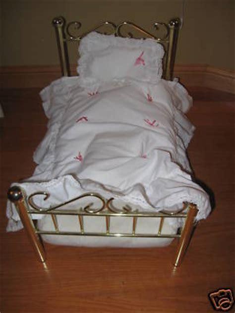 american girl samantha bed eurocollector american girl samantha brass bed with bedding