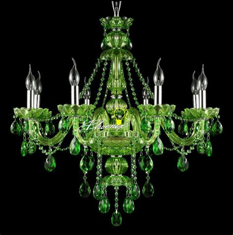 green chandelier crystals modern jade green chandelier modern