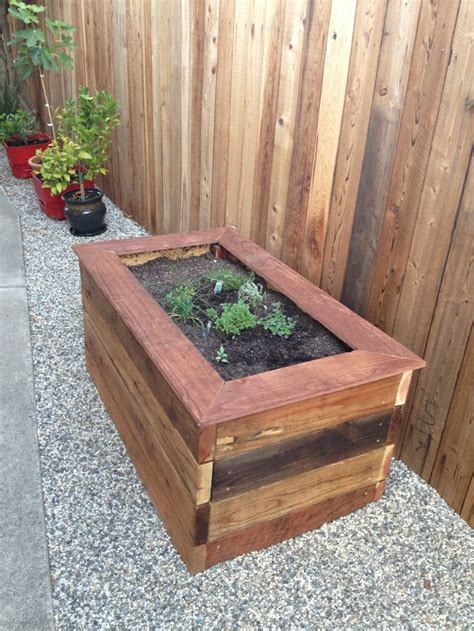 Wood Planter Boxes Woodworking Plans Garden Tips Ideas Garden Planter Boxes Ideas