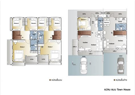town home plans suetrong townhome klong 6 rangsit suetrong property group