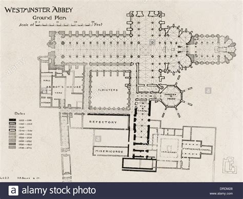 floor plan of westminster abbey ground plan of westminster abbey stock photo royalty free