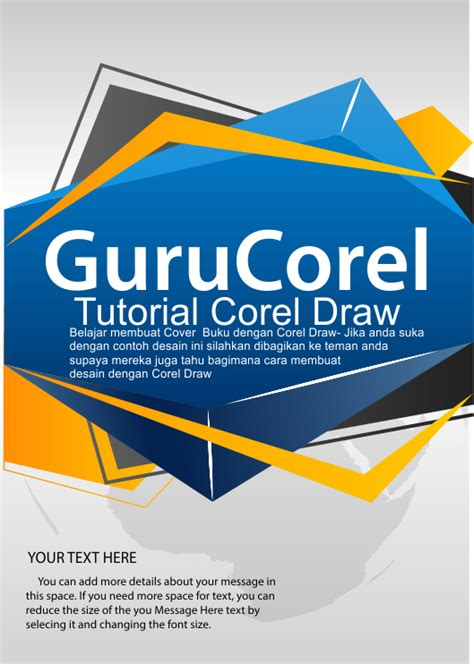 cara buat cover buku a5 cara mudah 20 menit membuat cover buku dengan corel draw