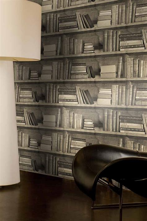 Iron White Panelling Bookcase Wallpaper No Problem By White Bookcase Wallpaper