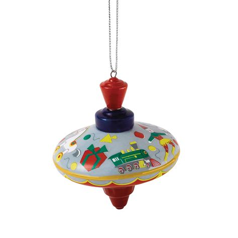 royal doulton christmas ornament spinning top royal