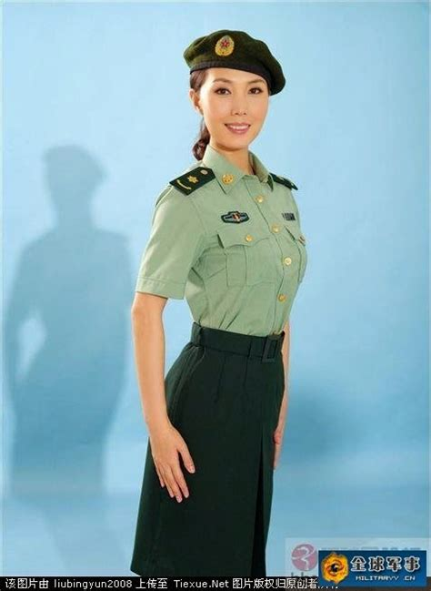 chinese military uniform girl the uniform girls pic china military women uniforms 4