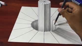 cara membuat gambar 3 dimensi dengan pensil versi on the spot