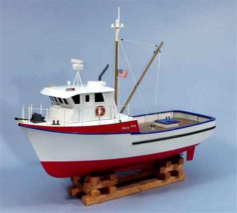 ebay model fishing boat kits uk dumas jolly jay model boat kit suitable for r c 1231 ebay
