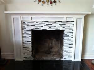 Glass Mosaic Fireplace Surround Best 20 Glass Tile Fireplace Ideas On