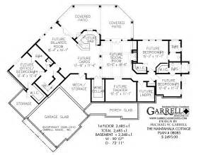 One Story With Basement House Plans Nantahala Cottage Rustic Mountain House Plan