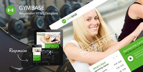 themeforest fitness gymbase responsive gym fitness template by quanticalabs