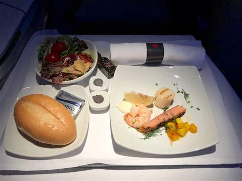 flight review air canada  business class hong kong