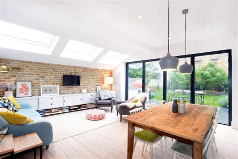 Period Homes Interiors Magazine by Scandinavian Style London Flat Extension Real Homes