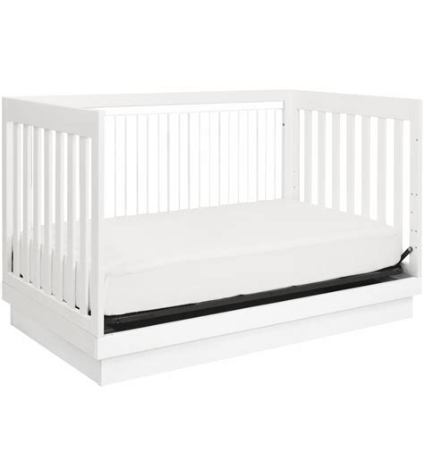 Babyletto Harlow 3 In 1 Convertible Crib In White Finish Harlow 3 In 1 Convertible Crib