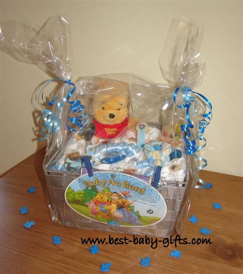Winnie The Pooh Baby Shower Gifts by Newborn Baby Gift Baskets How To Make A Unique Baby Gift