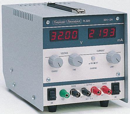 digital bench power supply pl320 aim tti pl320 digital bench power supply with ukas