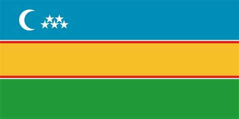Flag Strech Import vaizdas flag of karakalpakstan svg vikižodynas