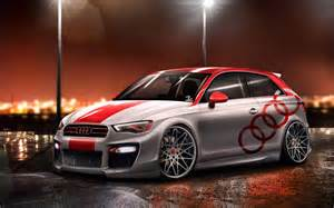 Www Audi Cars Images Artwork Audi A3 Cars Tuning Walldevil