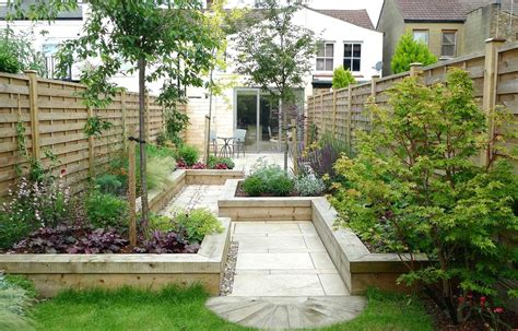 Small Back Garden Design Ideas Stunning Back Garden Designs Also Wooden Wall As Fence Also Modern Garden Design Also Small