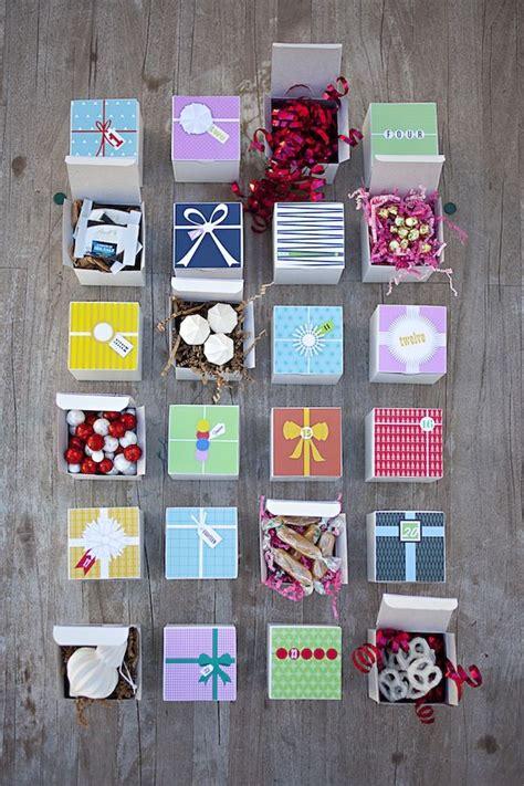 simple printable advent calendar easy diy advent calendar download and print each design