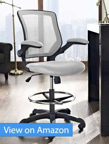 Modway Veer Drafting Stool Chair by The 5 Best Ergonomic Drafting Chairs And Stools In 2018