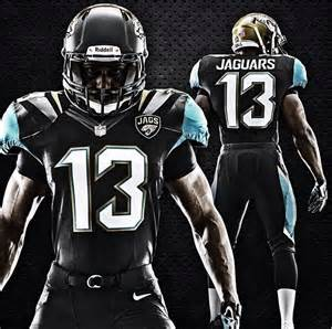 Nfl Jaguars New Jacksonville Jaguars Uniforms Revealed