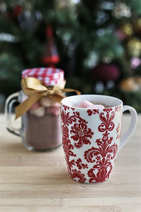 christmas spiced hot chocolate mix love swah
