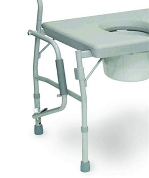 Large Bedside Commode by Large Bedside Commode Toilet Seat Drop Arm Heavy