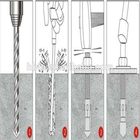 M6*50 Carbon Steel Expansion Bolt,Anchor Bolt,Expansion