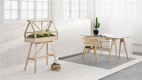 green design house greenhouse terrarium designed by atelier 2 for design house stockholm