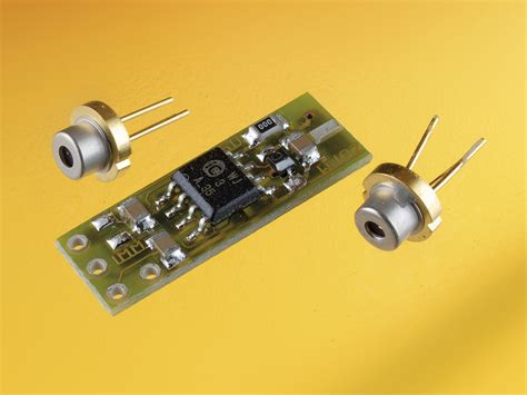 laser diode driver monitor photodiode inexpensive drivers for cw laser diodes