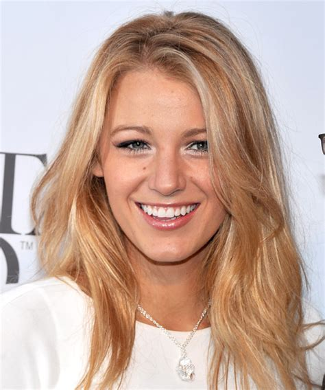strawberry face shape blake lively hairstyles in 2018