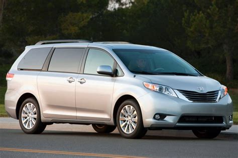 toyota van 2014 toyota sienna ce fleet cargo van market value what