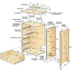 1000 ideas about dresser plans on bookcase