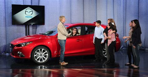 Ellen Degeneres Car Giveaway - ford giveaway on ellen