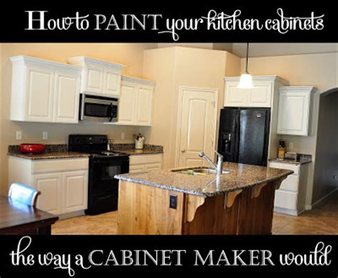 Professionally Painting Kitchen Cabinets How To Paint Your Kitchen Cabinets Professionally