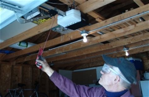 Re Engage Garage Door Opener by Extension Pulley Replacement