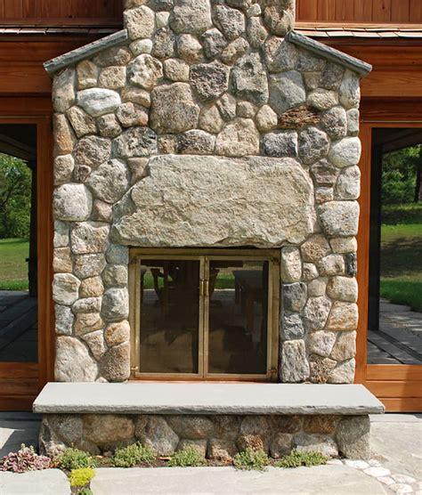 outdoor fireplaces stone fireplace kits cape  ma