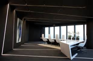 Office Chair Black Design Ideas Futuristic Office Interior Design