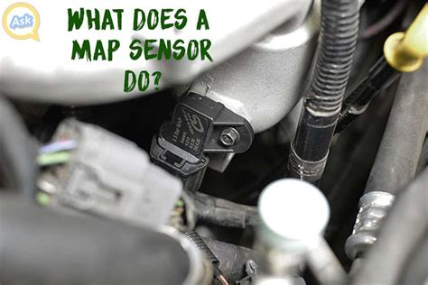 what is a map sensor what does a map sensor do