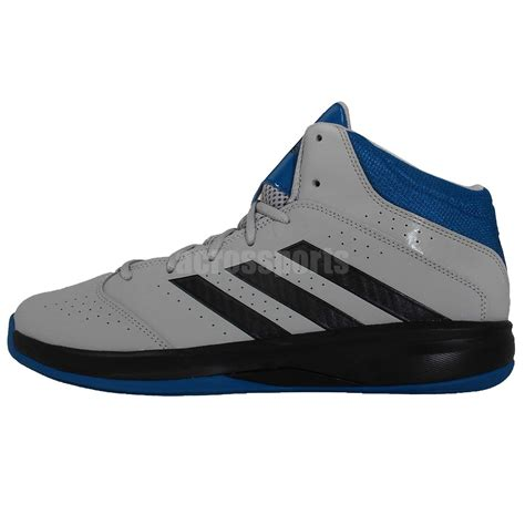grey adidas basketball shoes adidas isolation 2 grey black blue 2014 mens basketball